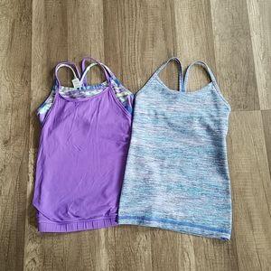 Lululemon Ivivva Girl's Workout Tank Top Bundle 6
